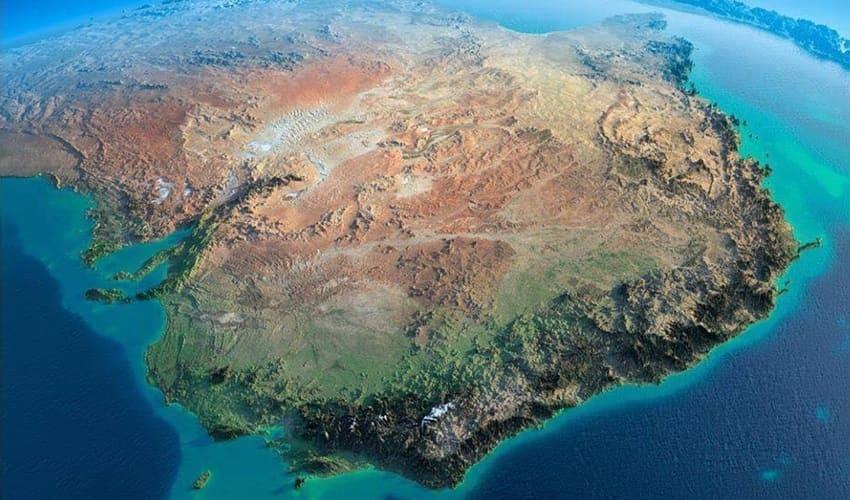 австралия, материк австралия, континент австралия