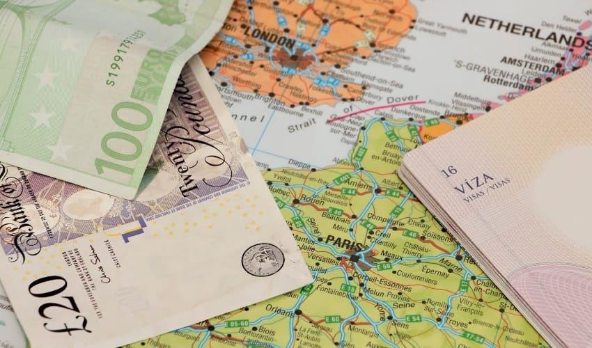 европа на карте, положение европы на карте, площадь европы