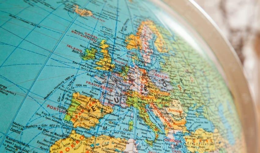 Европа - околица Евразии
