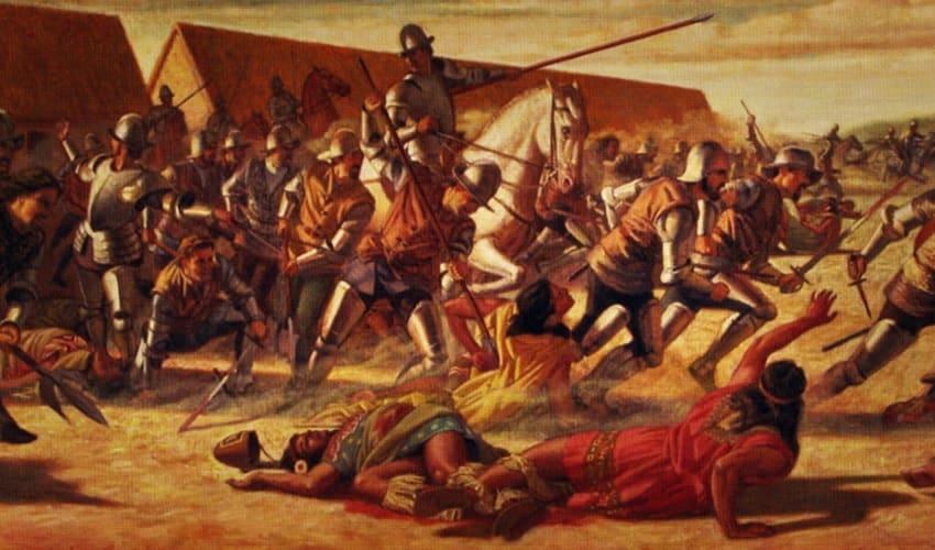 завоевание южной америки испанцами и португальцами