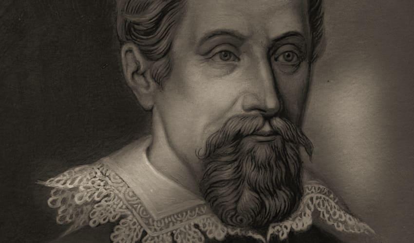 Монастырский математик Иоганн Кеплер
