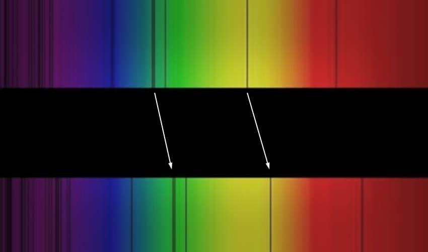 что такое красное смещение, красное смещение, красное смещение это, красное смещение спектральных линий
