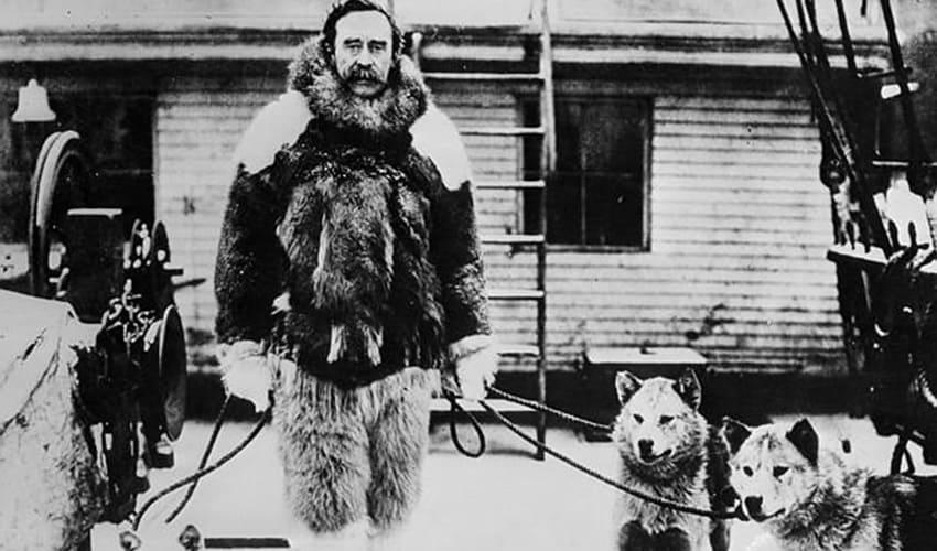 кто первым достиг северного полюса земли, кто первым достиг северного полюса, роберт пири, пири