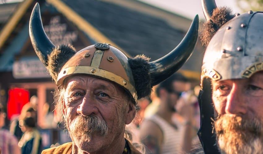 скандинавские викинги, русские князья, воины-землепроходцы
