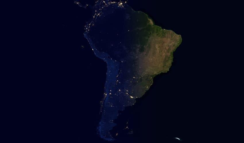южная америка, континент южная америка