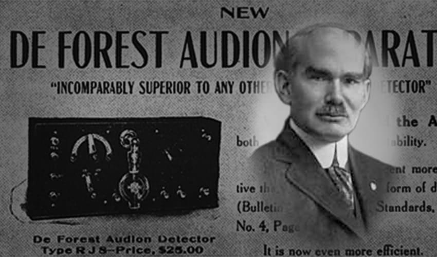 что такое аудион, аудион, аудион это, аудион ли де фореста, кто изобрел аудион