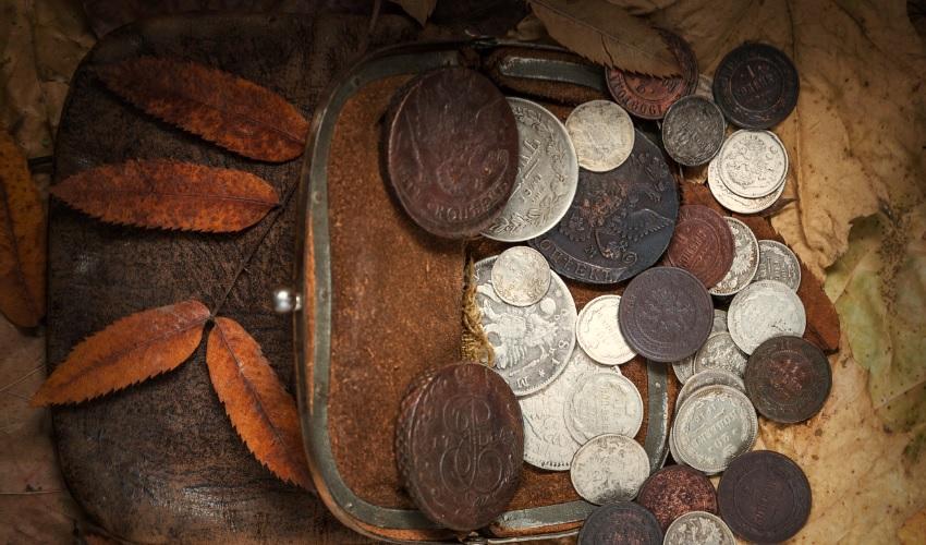 когда впервые стали использовать монеты, первые монеты, когда появились монеты