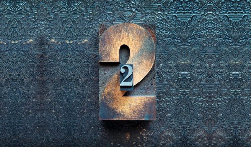 что особенного в числе 2, число 2, 2