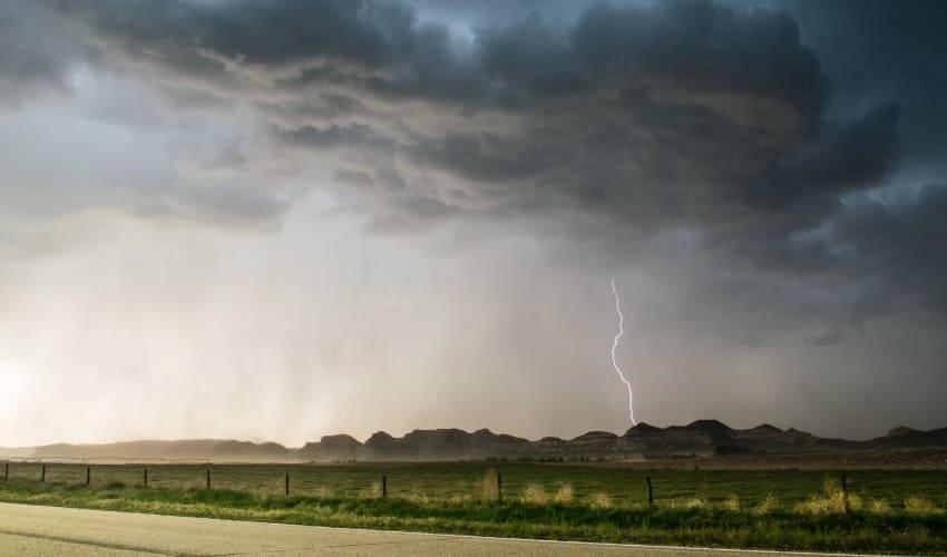 Насколько далеко от нас гром и молния?