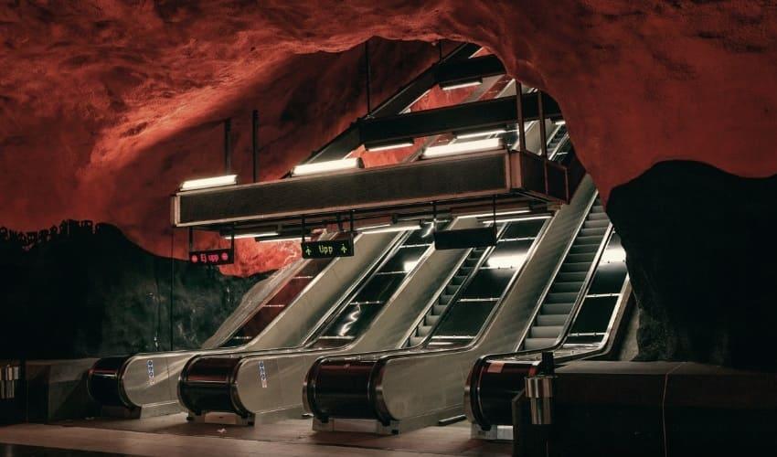эскалатор, эскалаторы, эскалатор это, как работает эскалатор