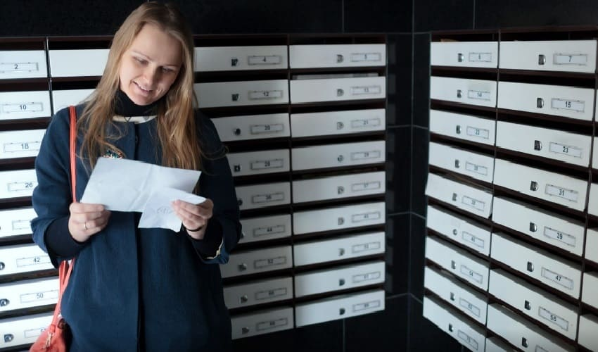 как мы получаем почтовую корреспонденцию, корреспонденция, как до нас доходит почтовая корреспонденция