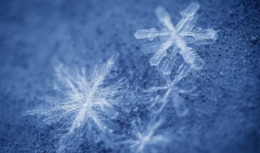Существуют ли две одинаковые снежинки?