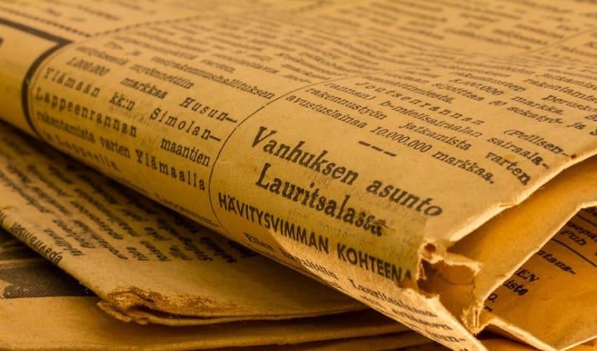 почему газеты выцветают и желтеют, почему газеты выцветают. почему газеты желтеют, почему газеты со временем выцветают, почему газеты со временем желтеют, выцветшая газета, пожелтевшая газета