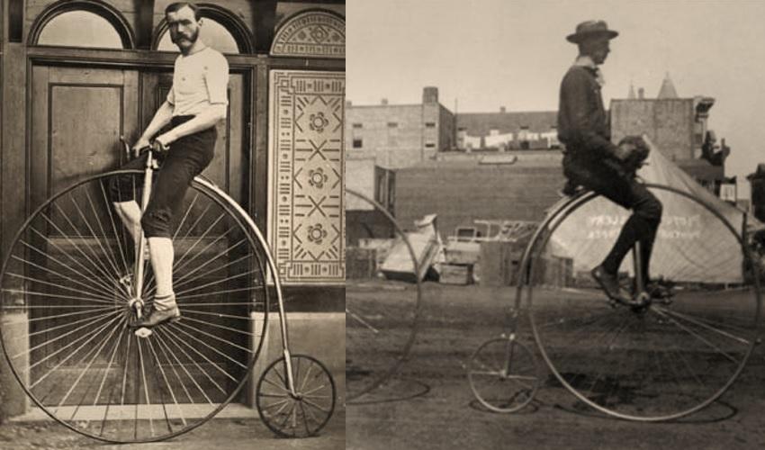 почему у старинных велосипедов были большие передние колеса, большие передние колеса у велосипедов