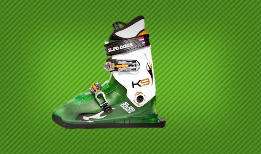 ботинки-лыжи, необычные ботинки-лыжи, ботинки-лыжи sleddogs