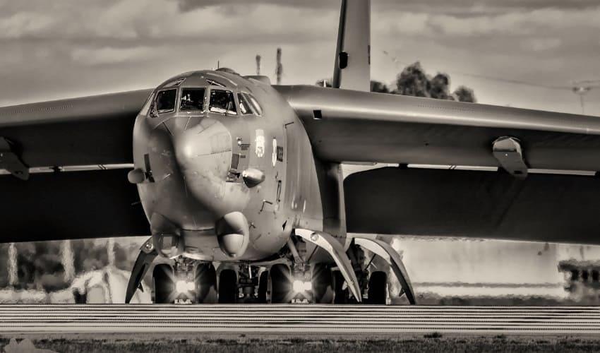 американские стратегические бомбардировщики, стратегические бомбардировщики, американские бомбардировщики, бомбардировщики, американский стратегический бомбардировщик b-52h, американский стратегический бомбардировщик b-1b