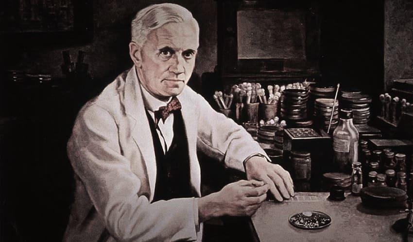действительно ли пенициллин был открыт случайно, как был открыт пенициллин, открытие пенициллина, открытие флемингом пенициллина, флеминг