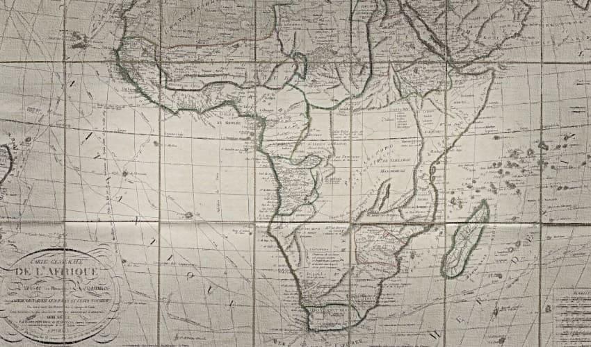черный континент, покорение черного континента