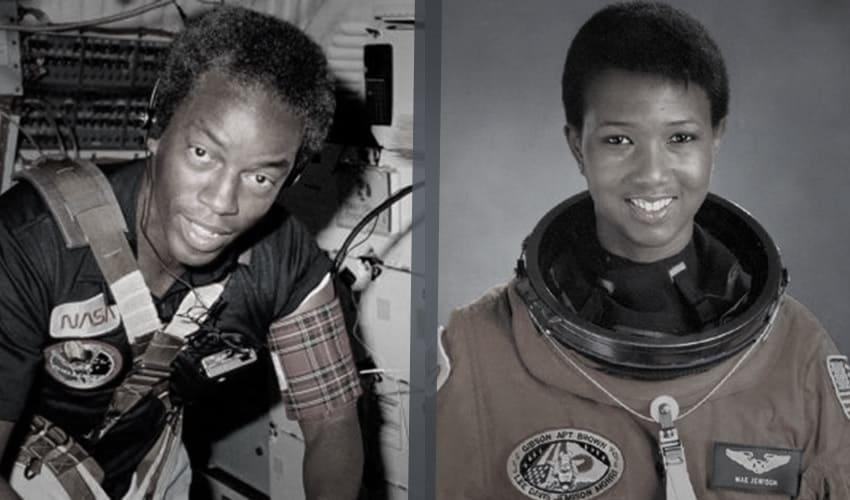 Первые афроамериканцы в космосе