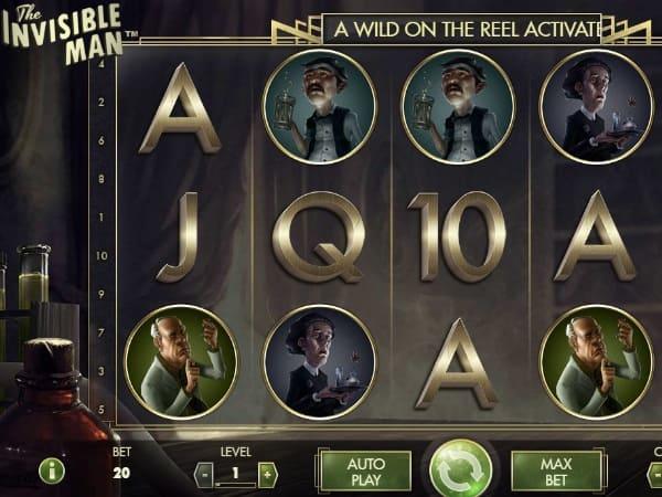 Игровой автомат «The Invisible Man»: краткое описание
