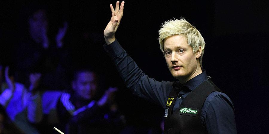 Нил Робертсон сумел выйти в финал турнира German Masters
